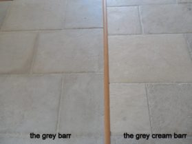 Grey Barr and Grey Cream Barr