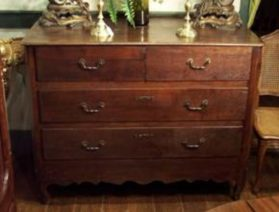 Four drawer Louis Phillip commode