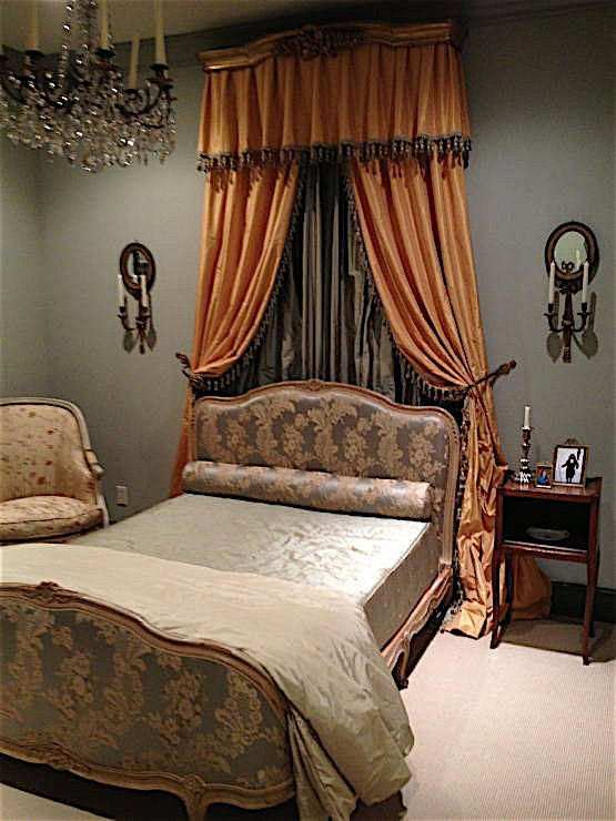 A modern home converted to a Louis XV decor - by Au Vieux Paris Antiques - bedroom picture