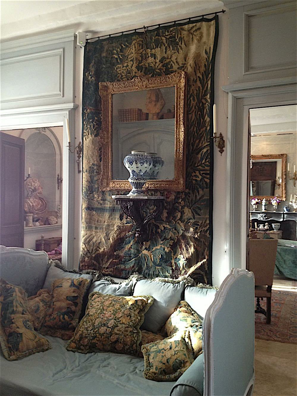 A residence in Provence, France - decorated by Au Vieux Paris Antiques
