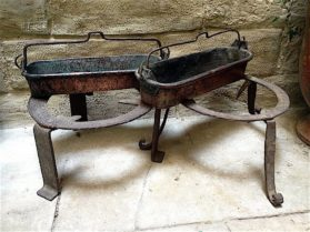 Hearth Cooking Equipment circa mid 18th century