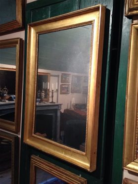 Directoire bois dore Mirror circa 1795