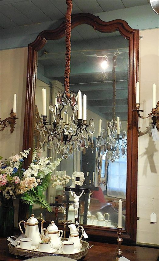 Louis XV oak Mirror circa 1770