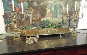 Empire sheet brass|cast bronze Planter circa 1810