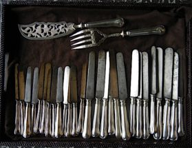 Knives in Stock circa 19th century