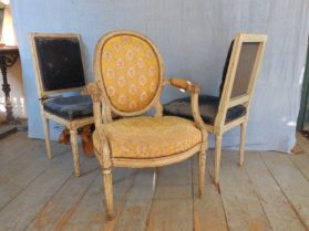 Louis XVI Louis XVI Chairs in  circa