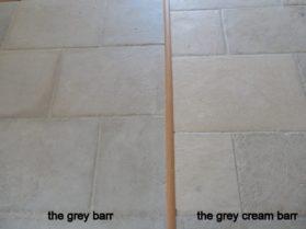 Grey Barr and Grey Cream Barr