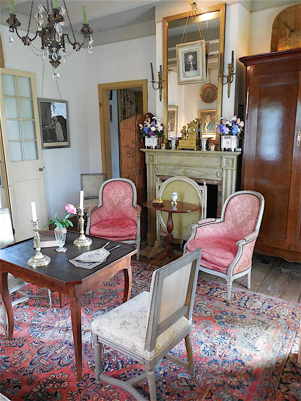 An Historic Early Louisiana Home by Au Vieux Paris Antiques