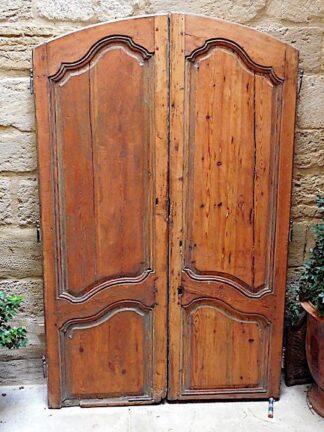 Classic Louis XV style Fir doors.