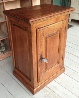 Mid 18th century oak cabinet