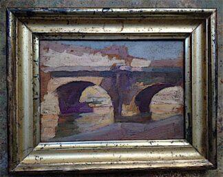 Marcel Lavallard Oil on Panel