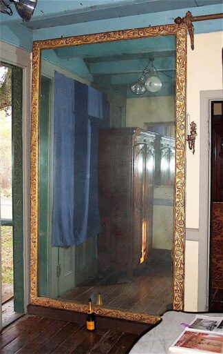 Regence bois dore Mirror circa 1715