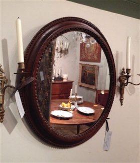 Louis XVI carved oak Mirror circa 1790
