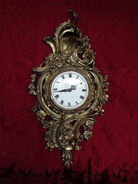Louis XV cast bronze Cartel Clock circa 1850