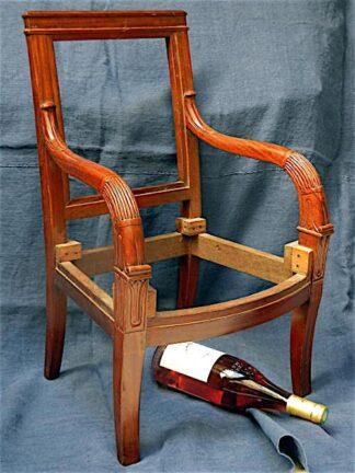 Directoire mahogony Children's Arm Chair circa 1920