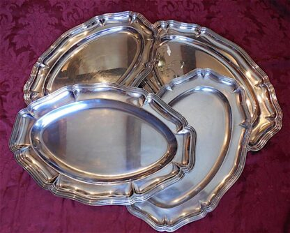Louis XV silver plate Platers circa early 20th century