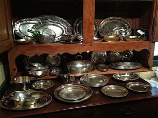 Silver Plated Serving Pieces circa