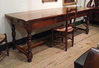 Louis XIV walnut Refrectory Table circa 1750
