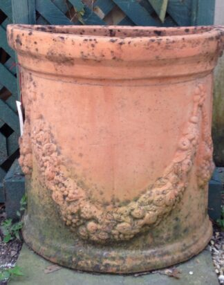 Pair of Demilune Planters in  circa