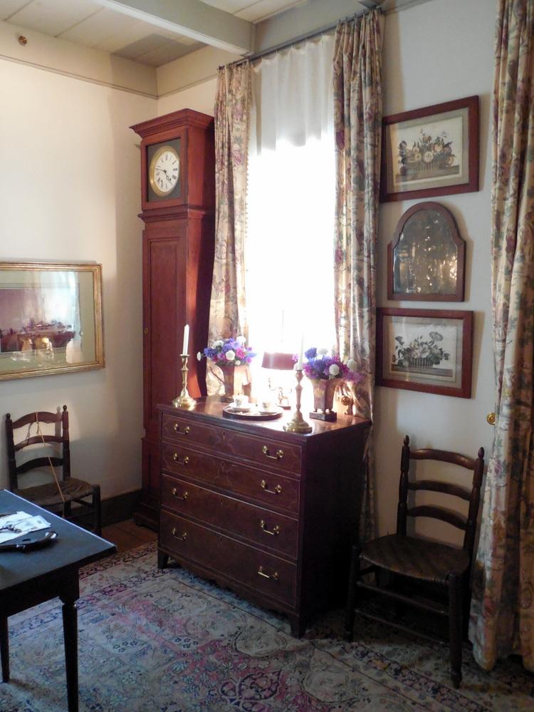 Maison Demanche featuring early Louisiana made furniture