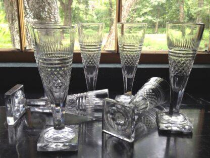 Rare Champagne Flutes in  circa
