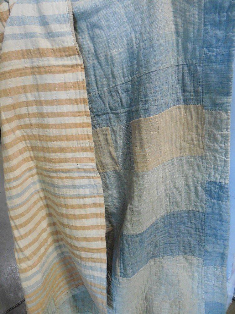 Acadian homespun quilt circa 1830.