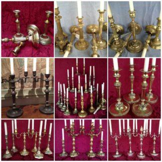 Candlesticks & Candelabras