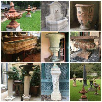 Garden Vases & Ornaments