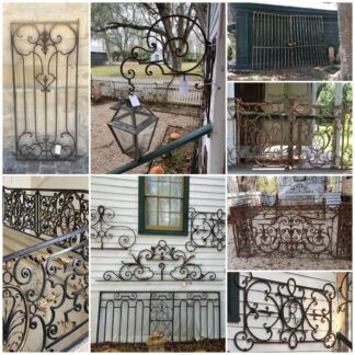 Wrought and Cast Iron Elements