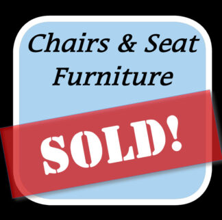 Sold Chairs & Seating