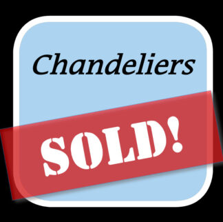 Sold Chandeliers