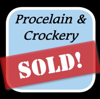 Sold Porcelain